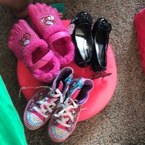 Other - Lot of 3 pairs of girls shoes NWT